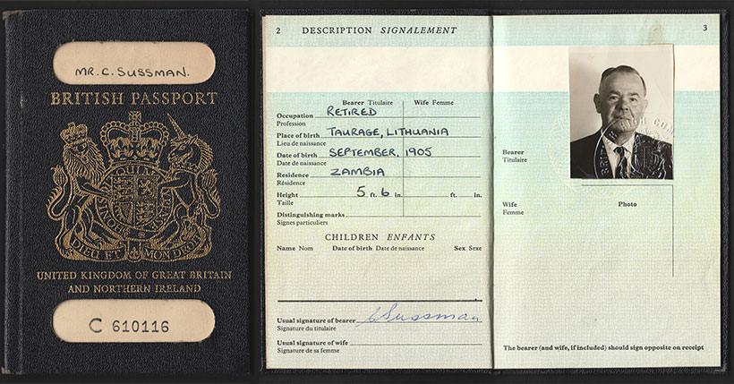 British Passport United Kingdom Of Great Britain